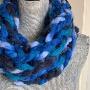 Caribbean Handmade Arm Knit Infinity Scarf